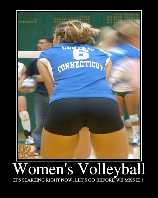 Hot Women's Volleyball Players