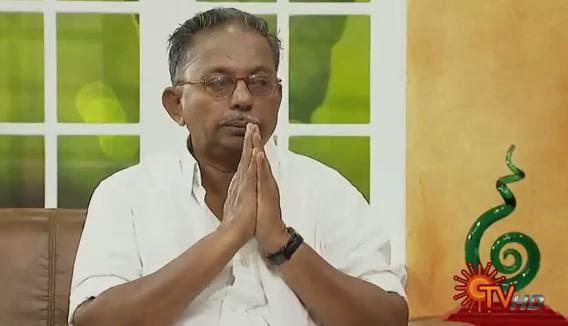 Virundhinar Pakkam – Sun TV Show 06-01-2014 Writer | Melaanmai Ponnusamy