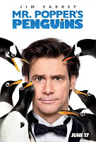 mr poppers penguins movie poster Mr. Popper goes to the movies