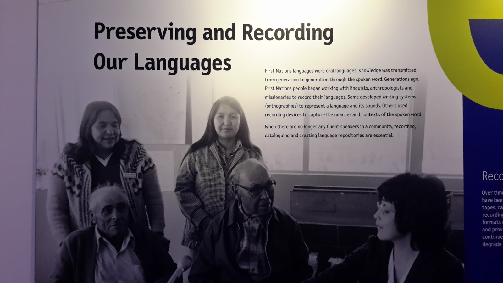 Mesum Of Living Languages sharing knowledge - indigenous languages - canada - australia: our