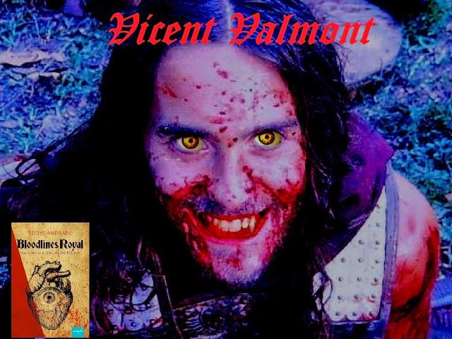 Jared Leto como o príncipe vampiro Vicent Valmont