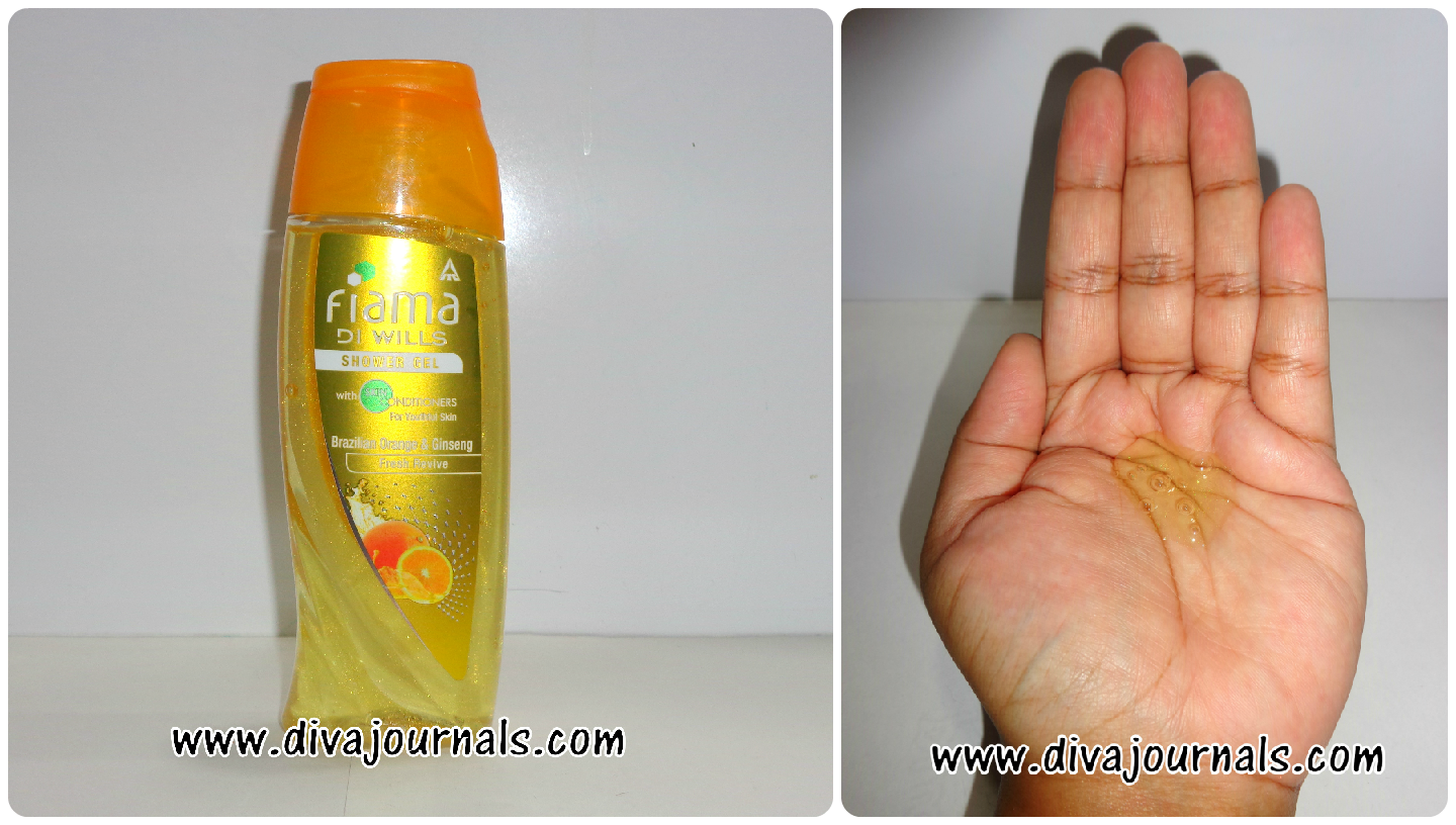 Fiama Di Wills Shower Gel-Couture Spa for Reinvigorating Care (Yellow Bottle)