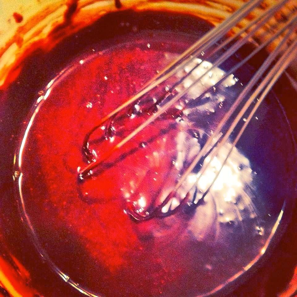 Burnt Caramel Custard Puddings with Bittersweet Ganache + Fleur de Sel