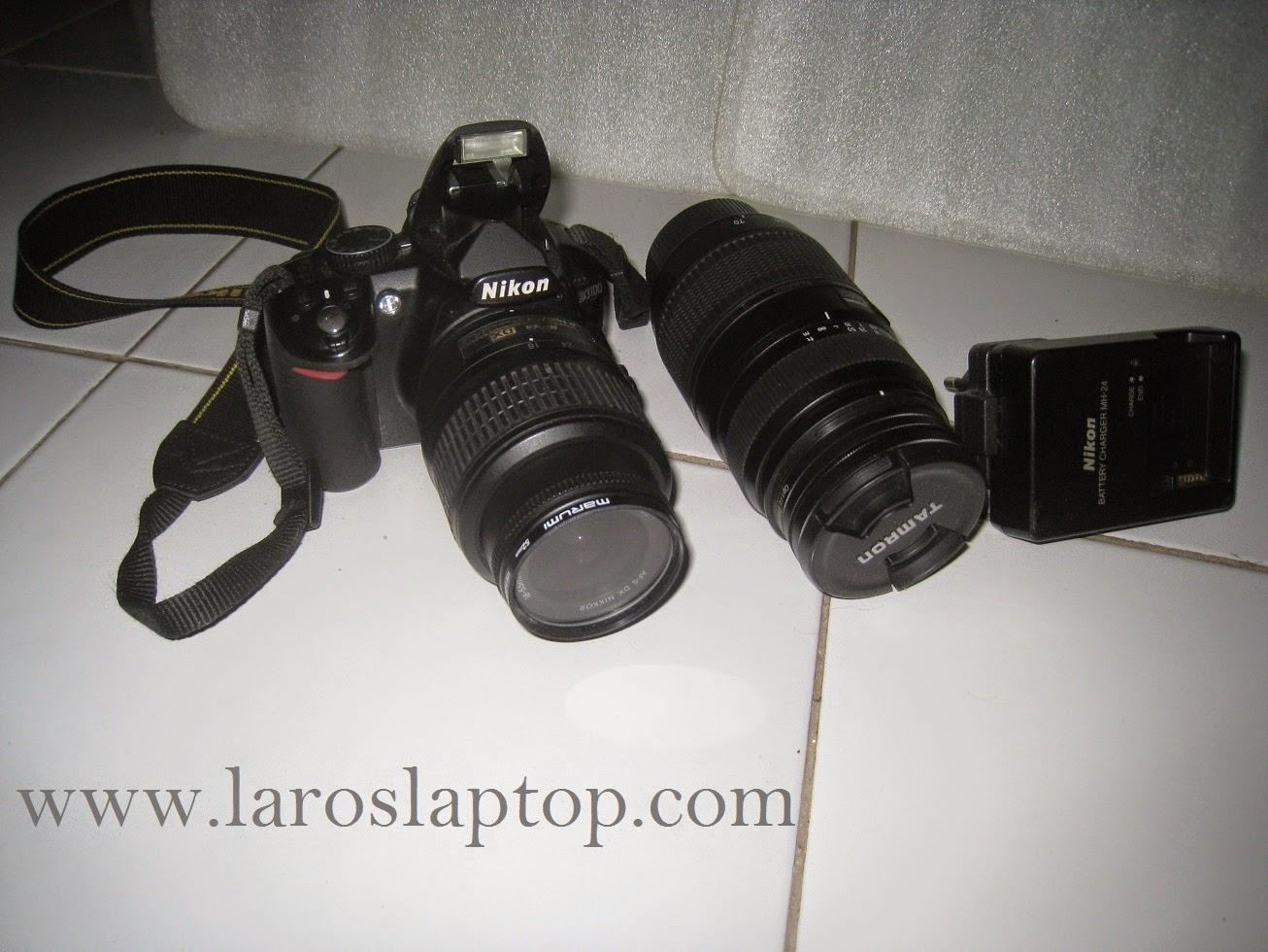 Kamera Bekas Malang NIKON D3100 + Kit + Tamron 70-300mm f4-5.6 Di LD NIKON