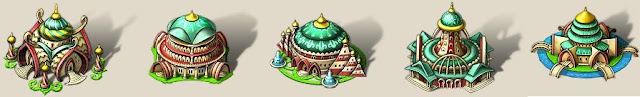 здания светлых эльфовв онлайн игре My Lands