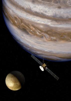 ESA JUICE spacecraft