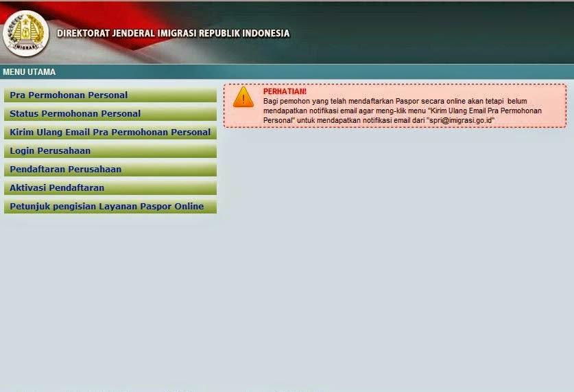 Tutorial Pendaftaran Paspor Online Terbaru
