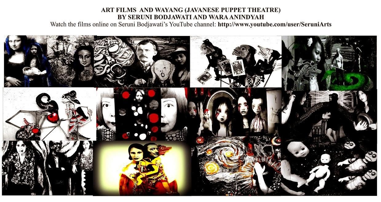 Phantasmagoria - Salvador Dalí in Javanese Puppet Theatre Art+Film+Wayang+Seruni+Bodjawati
