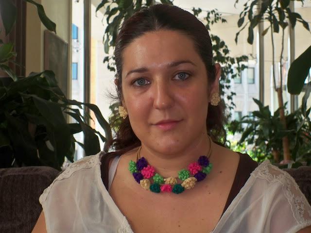 Ana Lanas con Conjunto