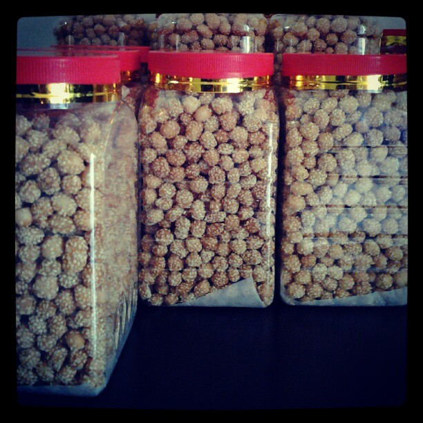 tempahan buah rotan   buah redan  biskut bijan untuk raya 1433H 2012Resepi Buah Rotan