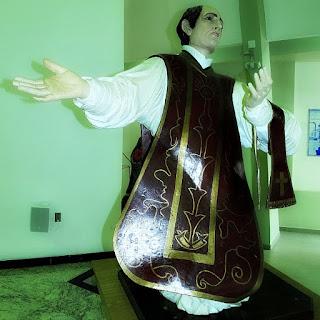 Imagem jesuíta de São Francisco de Borja, na Igreja Matriz de São Borja.