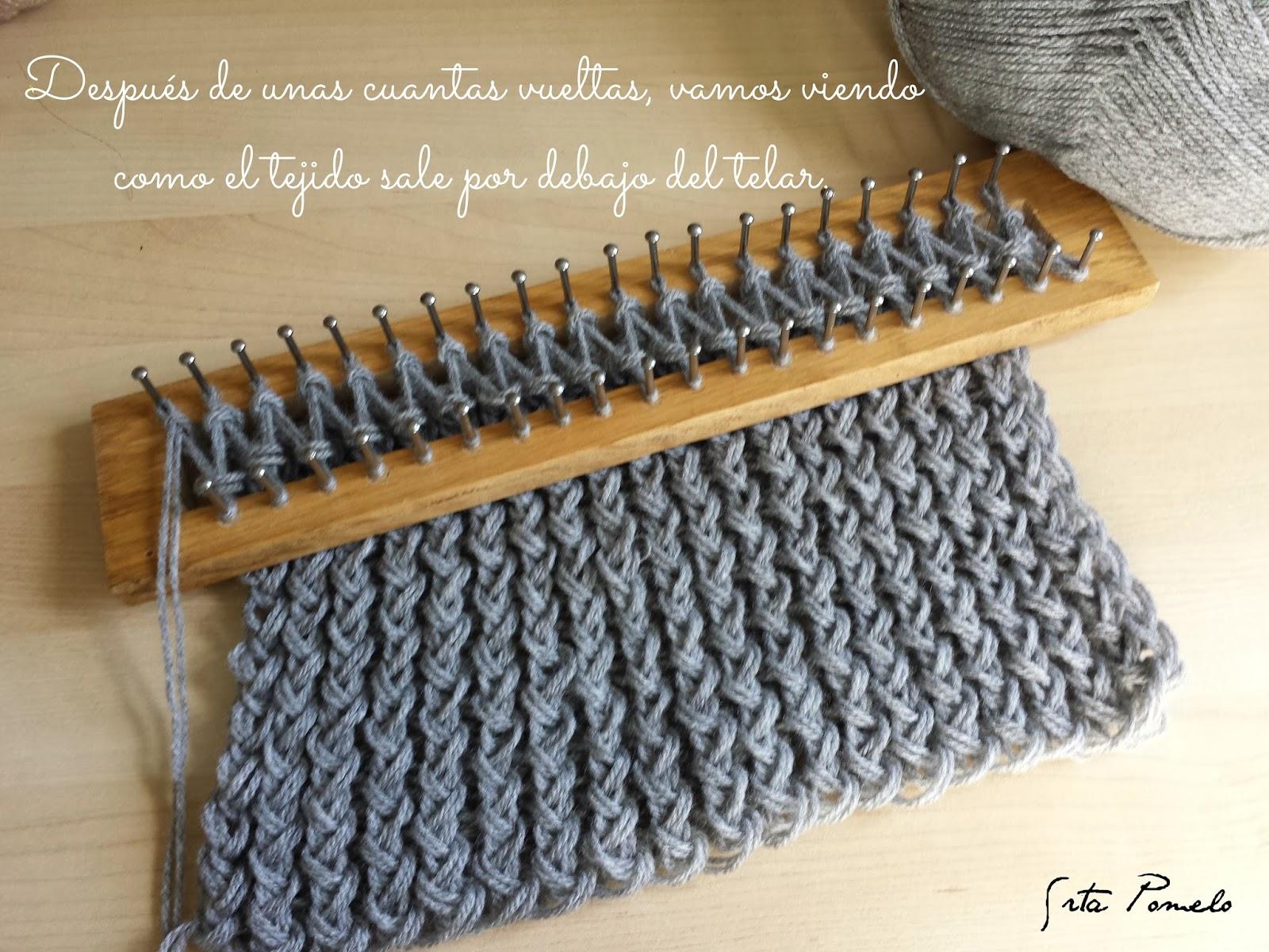 Srta Pomelo: DIY: cómo hacer una bufanda con el telar maya.