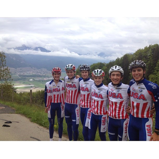 Ansel and Brendan on the Jr. National Team in Geneva, Switzerland!