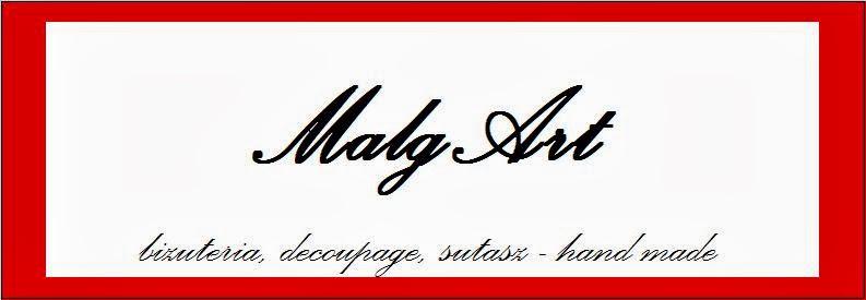 MalgArt - biżuteria, decoupage, sutasz - hand made