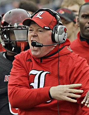 bobby petrino screaming