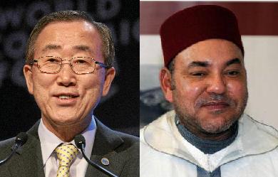 Victoria de Ban Ki-moon contra el Rey Mohammed VI