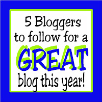 5 Bloggers to follow for a GREAT blog this year! Get great tips, tricks, and ideas to make your blog amazing.