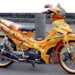 foto modifikasi yamaha jupiter z road race