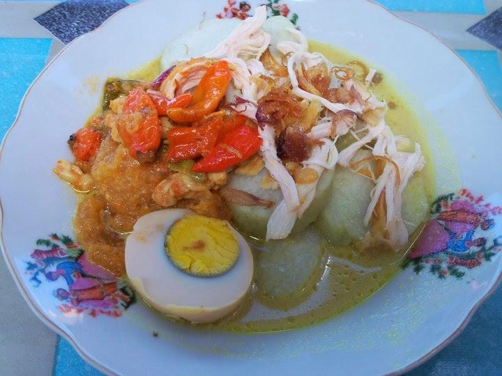 Resep Masakan Praktis Ketupat Sayur Opor Ayam Sederhana