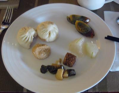 Frühstück in meinem Hotel