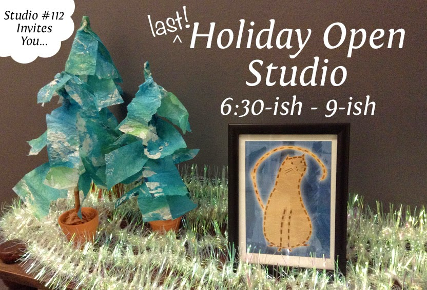 Holiday Open Studio - Western Avenue Studios #112