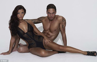 Lucy Mecklenburgh New magazine shoot with Mario Falcone