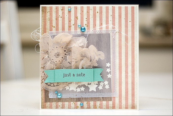 Scrapbooking Birthday Card, Geburtstagskarte