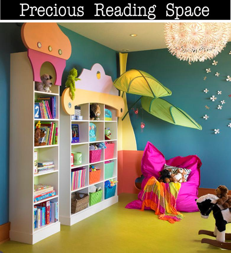 It's Written On The Wall: Design Your Own Reading Nook For
