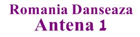 Romania Danseaza Antena 1