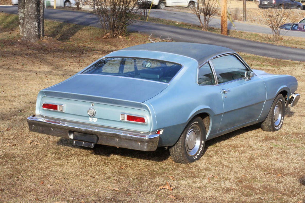 All american classic cars 1976 ford maverick 2 door sedan for Door 2 door cars