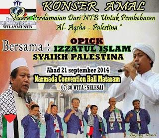 Konser NTB Peduli Palestina, 21 September 2014