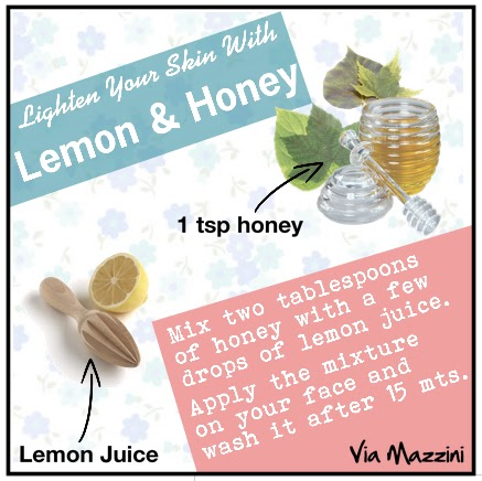 HONEY LEMON MASK FOR  FACE | VIA MAZZINI