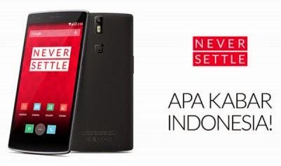Akhirnya, OnePlus One Hadir di Indonesia