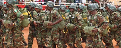 of the <b>Nigerian Army</b> have