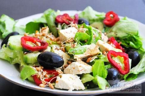 Salata de post simple