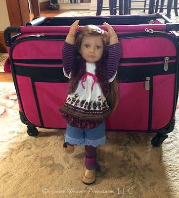 Julika's doll outfit by Geiser-Weaver Associates, LLC