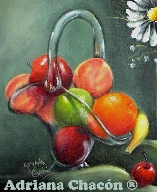 Adriana chacon mis paso a paso for Frutas de cristal