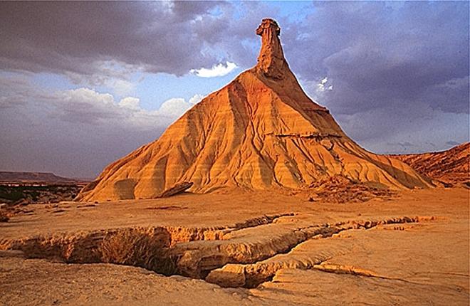 'Juego de Tronos' camino del Desierto de las Bardenas Reales
