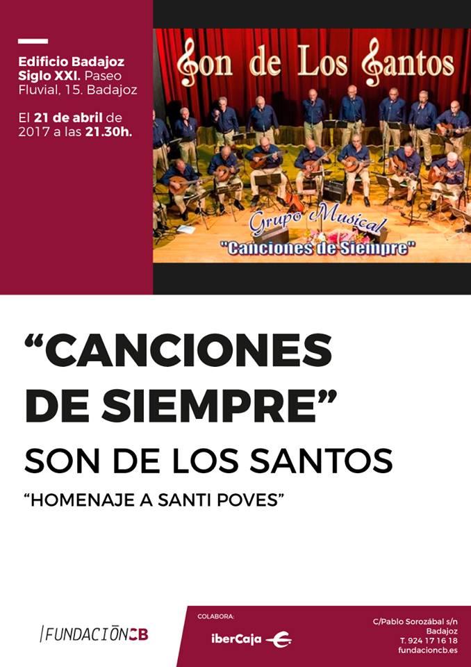 Concierto en el Edificio SIGLO XXI de la Fundación de Caja - Badajoz :21/04/2017