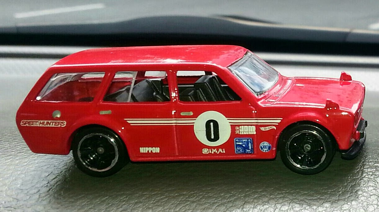 Hot Wheels '71 Datsun Bluebird 510 Wagon mainline.