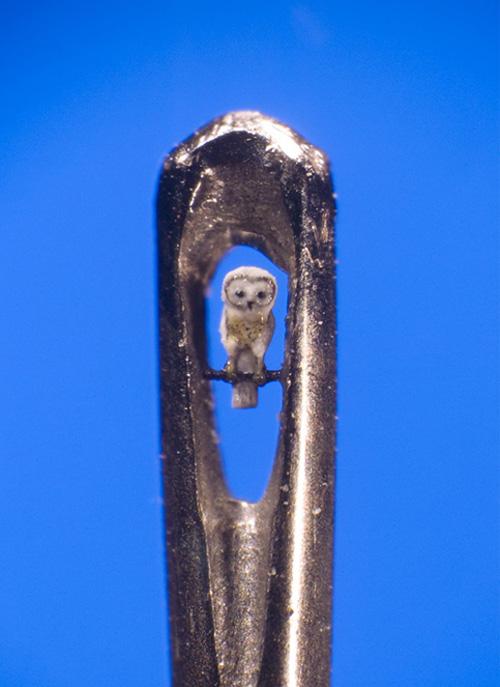 My Owl Barn Willard Wigan S Microscopic Sculptures