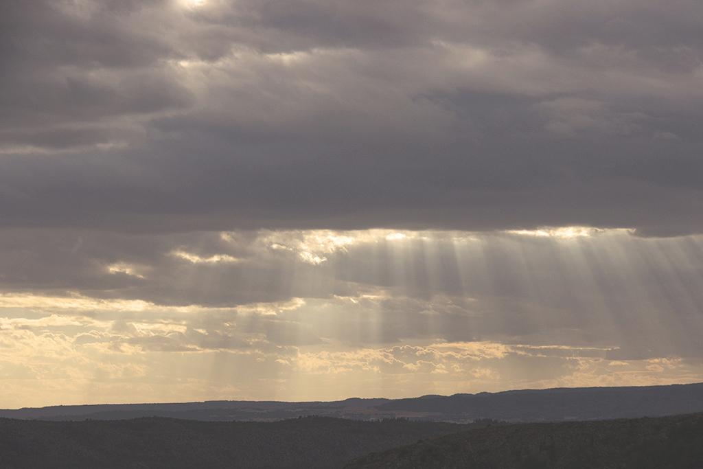 Fotografía puesta de sol Cuenca