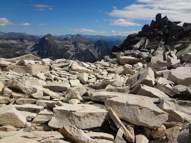 Summit of Mt. Gandalf, Tolkien Group, BC, Granite