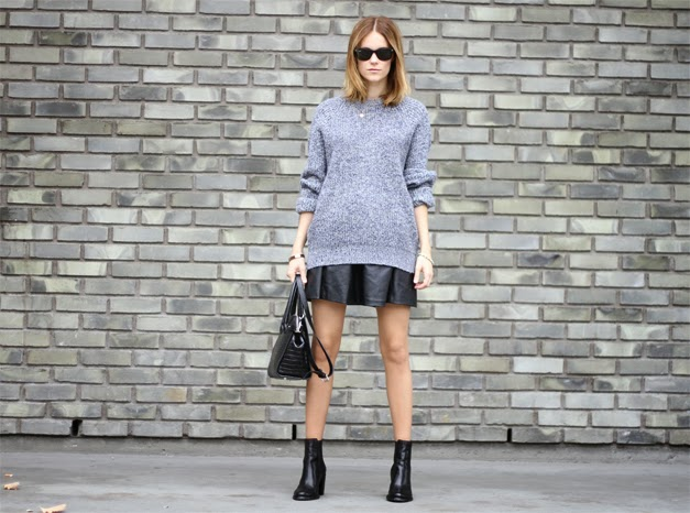 Street Style Vegan Ankle Boots Fashion Blogger Sara Strand