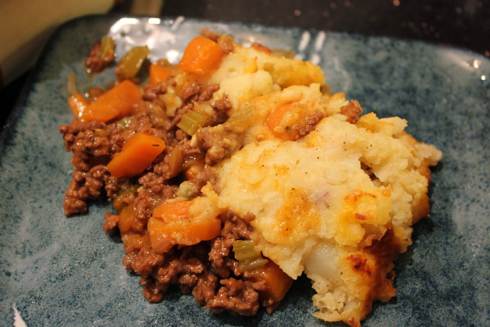 Songs of the Solomons: Cheddar-Topped Shepherd's Pie