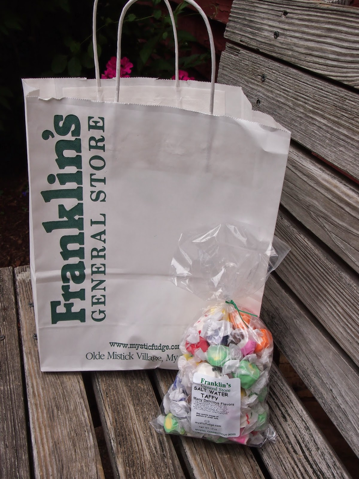 Salt Water Taffy from the General Store in the Olde Mystick Village