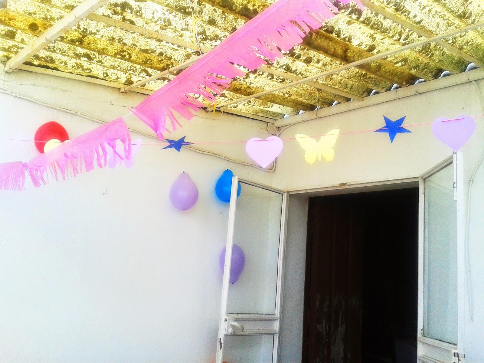 50 crisis una fiesta infantil en casa qu de tiempo for Ideas para el patio de mi casa
