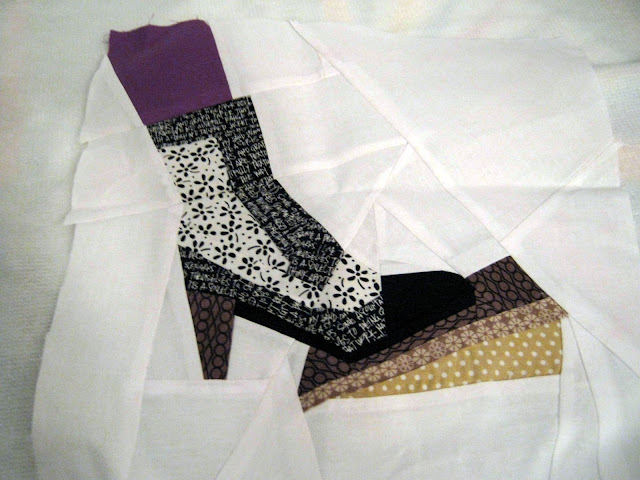 paper piecing boot