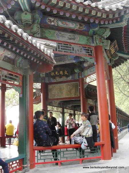 Long Corridor at Summer Palace in Beijing, China