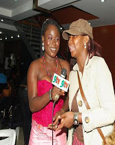 AJU ELUMELU (INTERNATIONAL ARTIST AND BUSINESS WOMAN) HOST ZAFAA AWARD 2011- NOMINATION CEREMONY